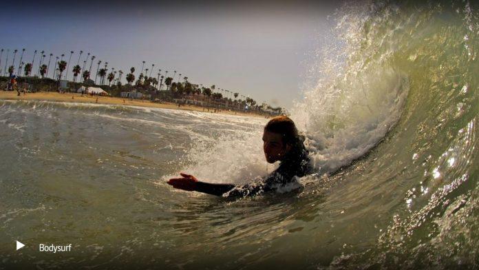 Bodysurfen als TV-Tipp