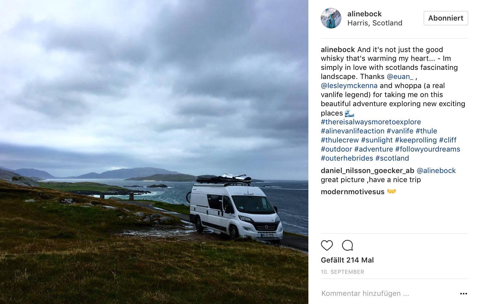 Ja, das Wetter auf den Hebriden besticht nicht direkt durch Sonnenscheingarantie.