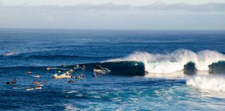 Der Ort der Peahi Challenge