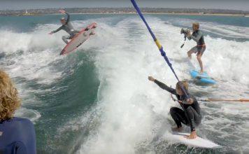 Wakesurfen als Contest