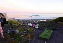 Camping in Neuseeland auf einem Around the World Trip