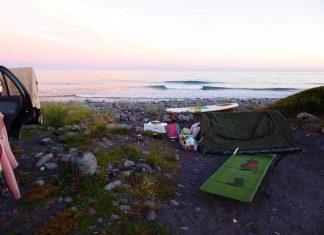 Camping in Neuseeland auf einem Around the World Trip