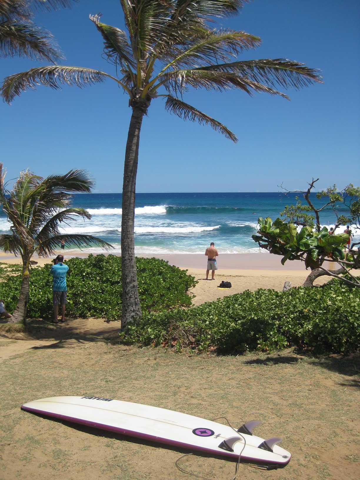 Dafür bot Hawaii dann aber solche Aussichten als Entschädigung.