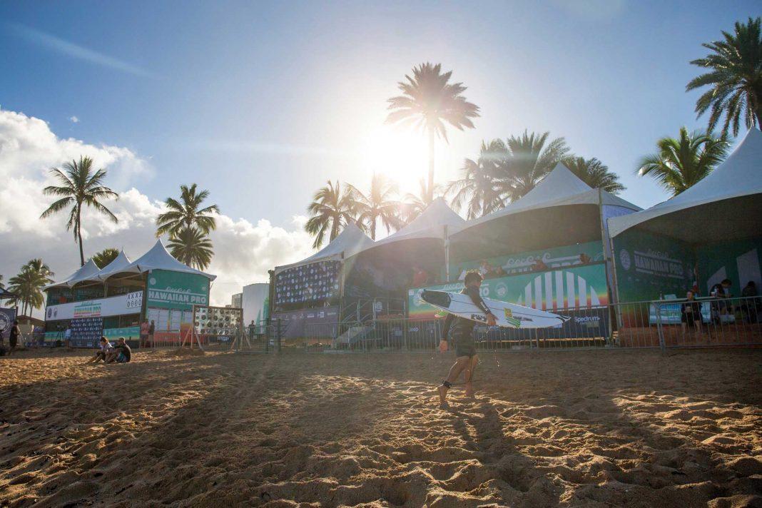 Der Pilgerzug nach Hawaii hat eingesetzt