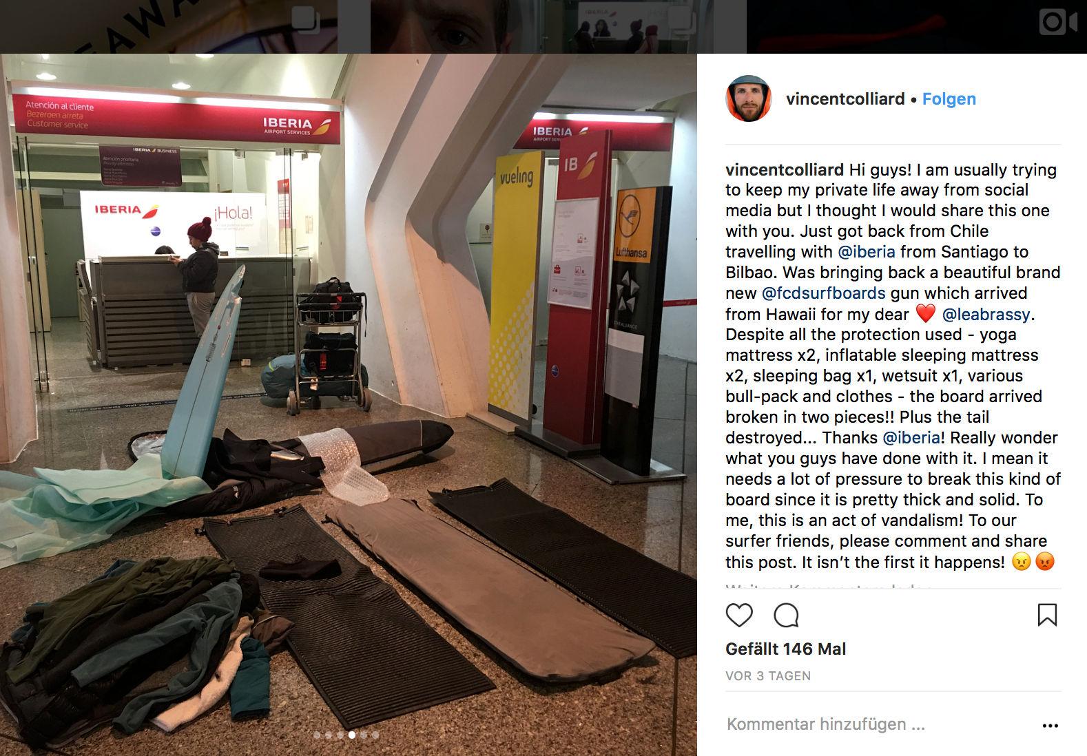 Möglicherweise gibt es bald auch im Duden den Eintrag: Iberia-Service = Gepäck, das von der Fluglinie komplett zerstört wurde.
