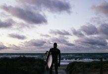 Die Ostsee ist kein Surfrevier für Warmduscher
