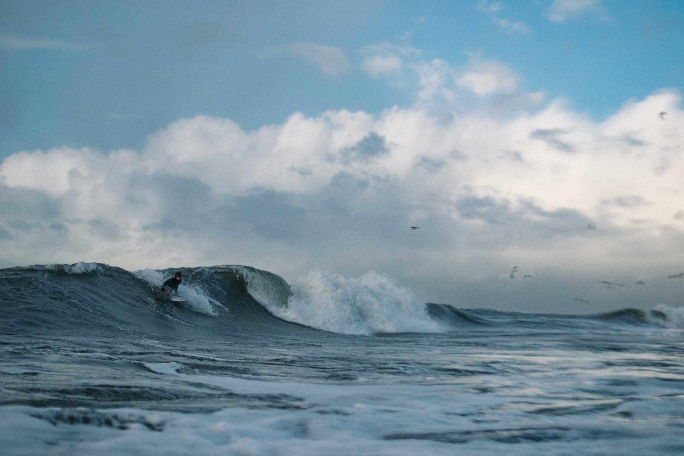 Vielleicht kein epischer, sicher aber ein guter Tag in der Ostsee. Credit: Vytas Kunigeliukas