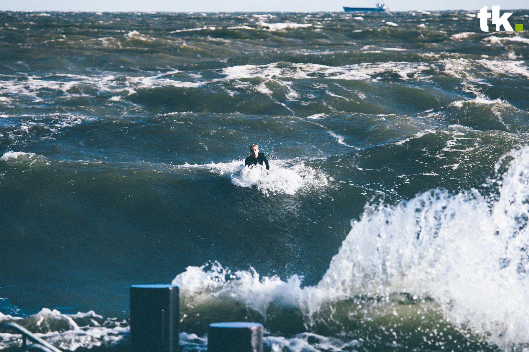 Ohne Wind geht eben rein gar nichts an der Ostsee. Credit: Vytas Kunigeliukas