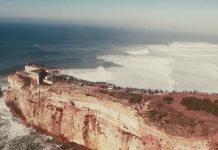 Josh Kerr erlebt sein erstes Mal in Nazaré