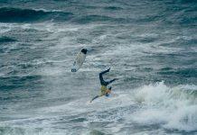 Die Nordsee war wild während der Sylt Open