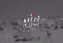 In Frankreich wird nackt gesurft