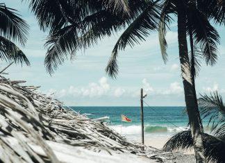 Surfspot in Sri Lanka