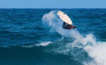 Ein Flip mit einem Surfboard ist der Yeti unter den Tricks