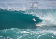 Kelly Slaters Auftritt an der North Shore