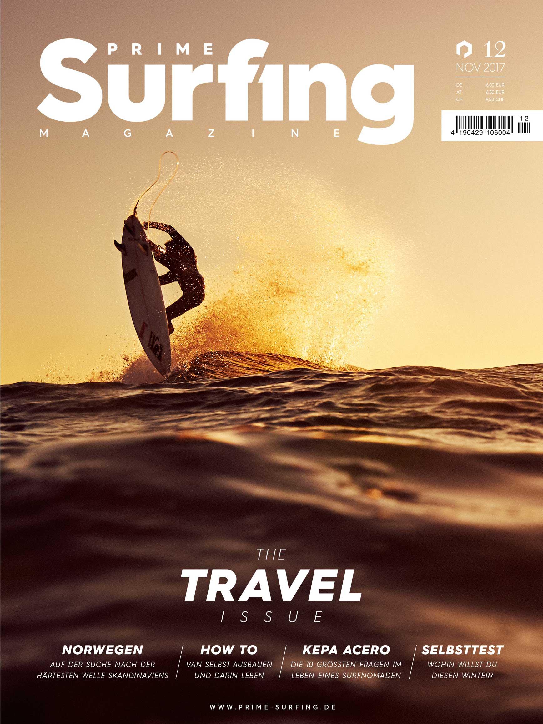 Die Travel Issue von Prime-Surfing