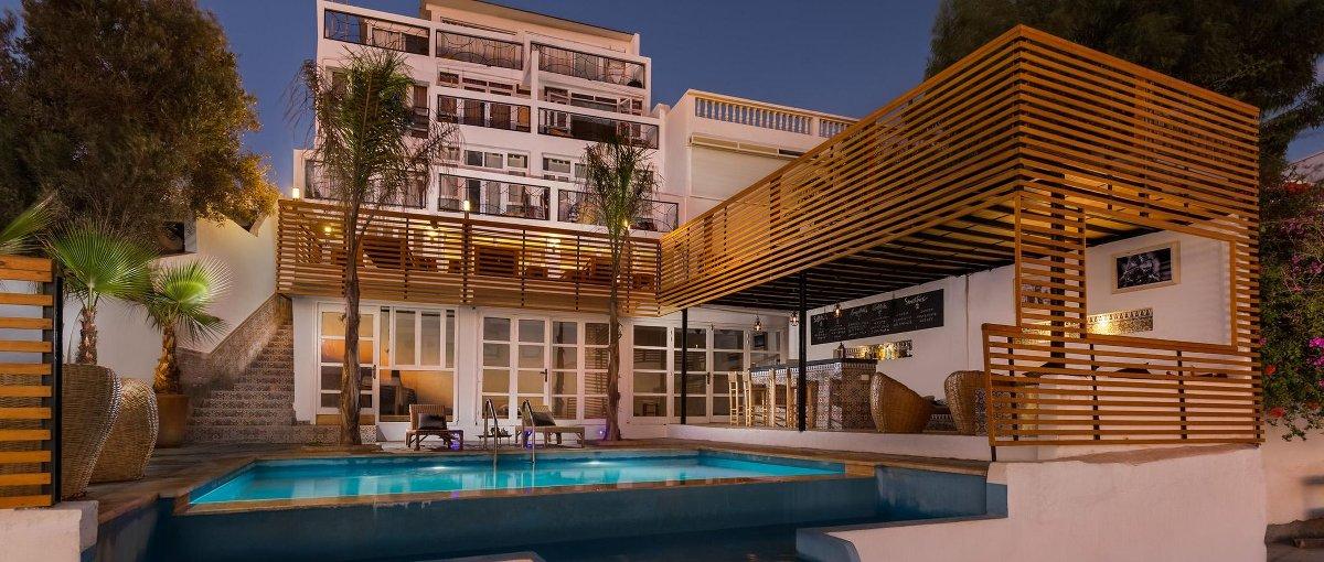 So wohnt ihr im Seaview Marokko von Pure Surfcamps.