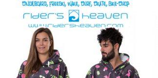 Rider's Heaven stiftet einen Surf-Poncho von After und einen Einkaufsgutschein über 50 Euro.