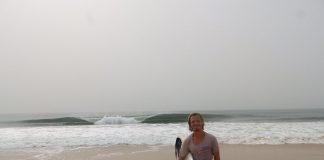 Stefan Pfeiller in Bureh Beach.