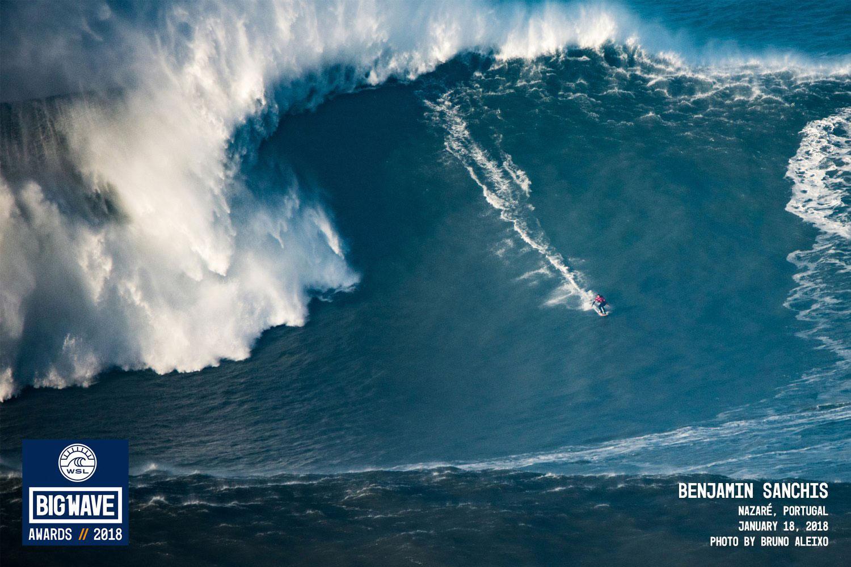 Portugal Hohe Wellen