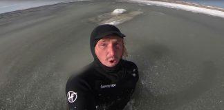 Ben Gravy sucht die gefrorene Welle