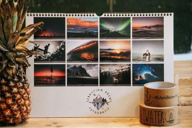 Der Jahreskalender 2018 des Fotografen Sebastian Drews.