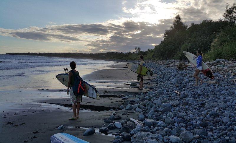 Vom Surfhouse seid ihr in 10 Minuten am Spot!