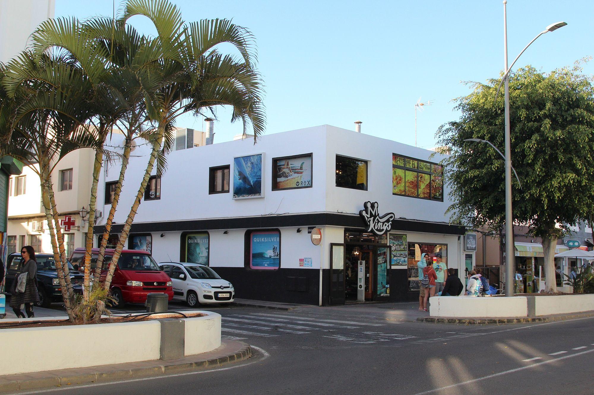 Corralejo ist der wohl bekannteste Surfort auf Fuerteventura.