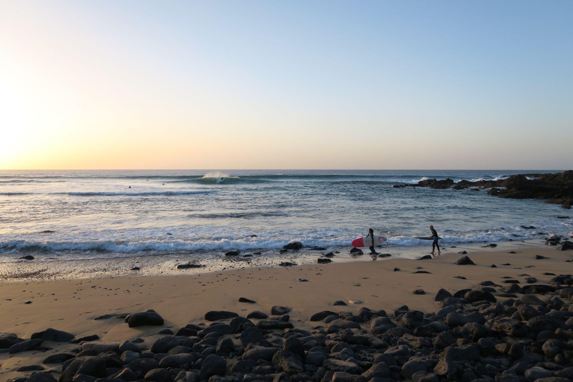 Playa de Esquinzo. Foto: Julian Siewert
