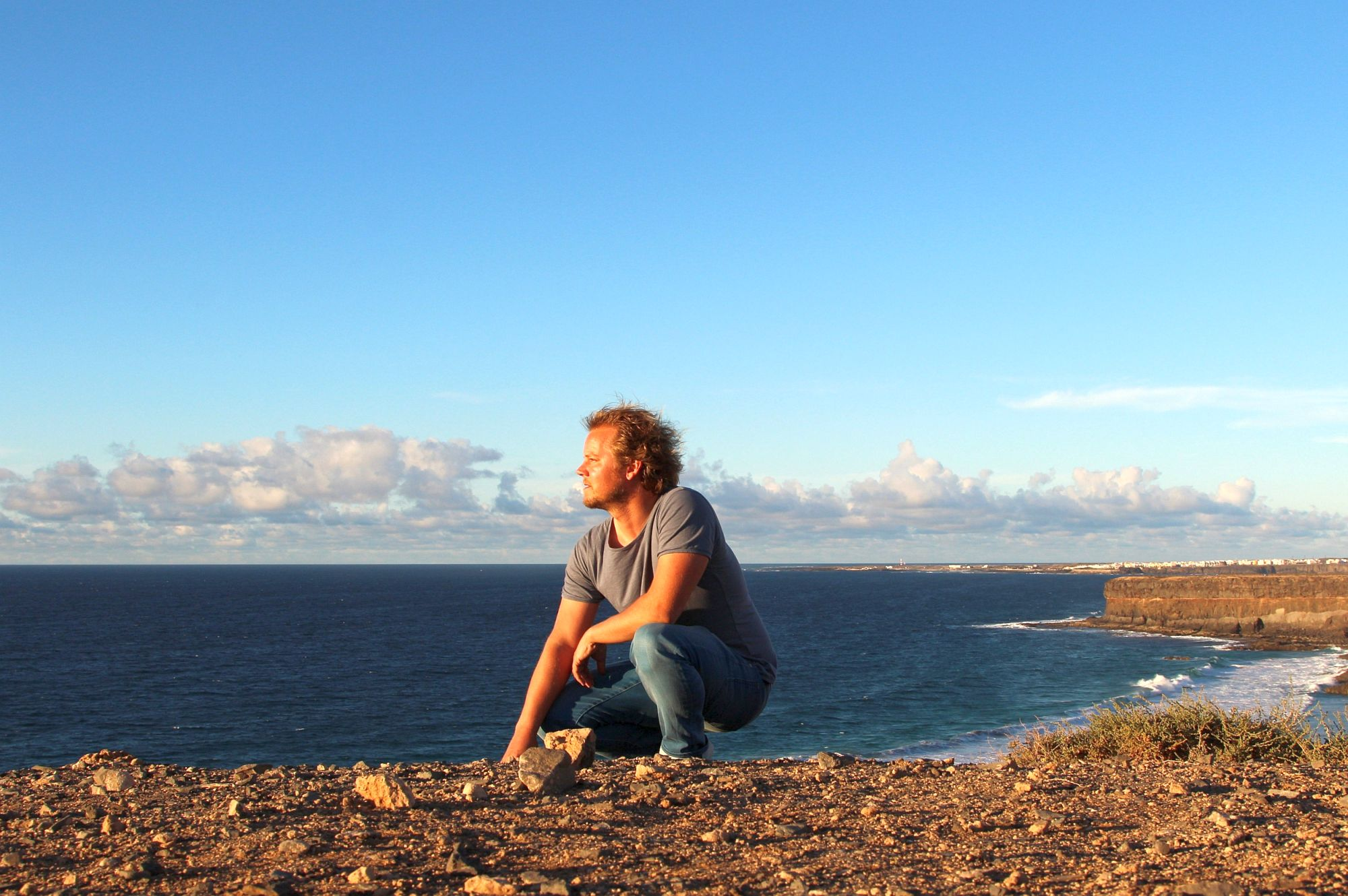 Julian Siewert hat vor 20 Jahren mit dem Surfen angefangen und war schon unzählige Male auf Fuerteventura.