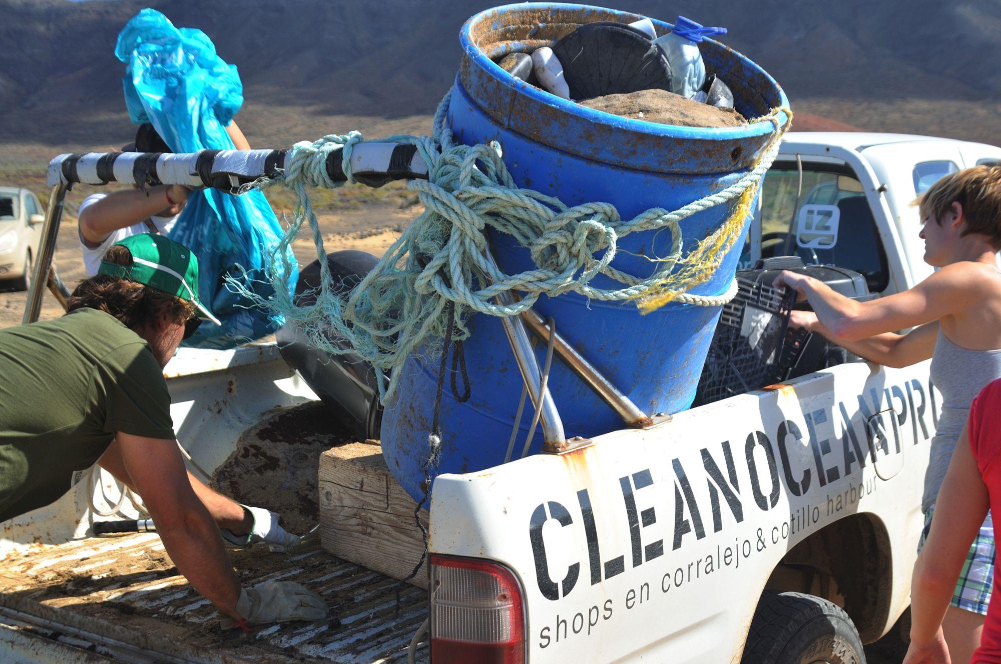 Das Clean Ocean Project setzt sich für den Schutz der Meere ein. Foto: Wim Geirnaert