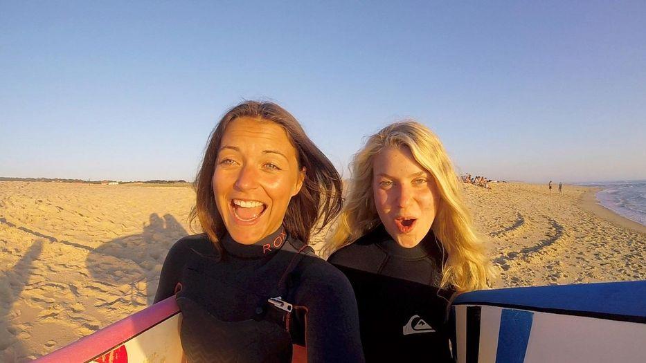 Linda (links) war 2017 Summer of your Life-Blogger und hatte die Zeit ihres Lebens!