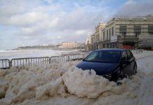 Wenn Biarritz auf Schaumbad macht