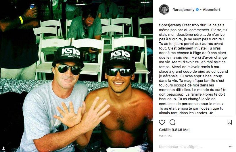 Jeremy Flores verdankt laut eigener Aussage Pierre Agnes seine Karriere.