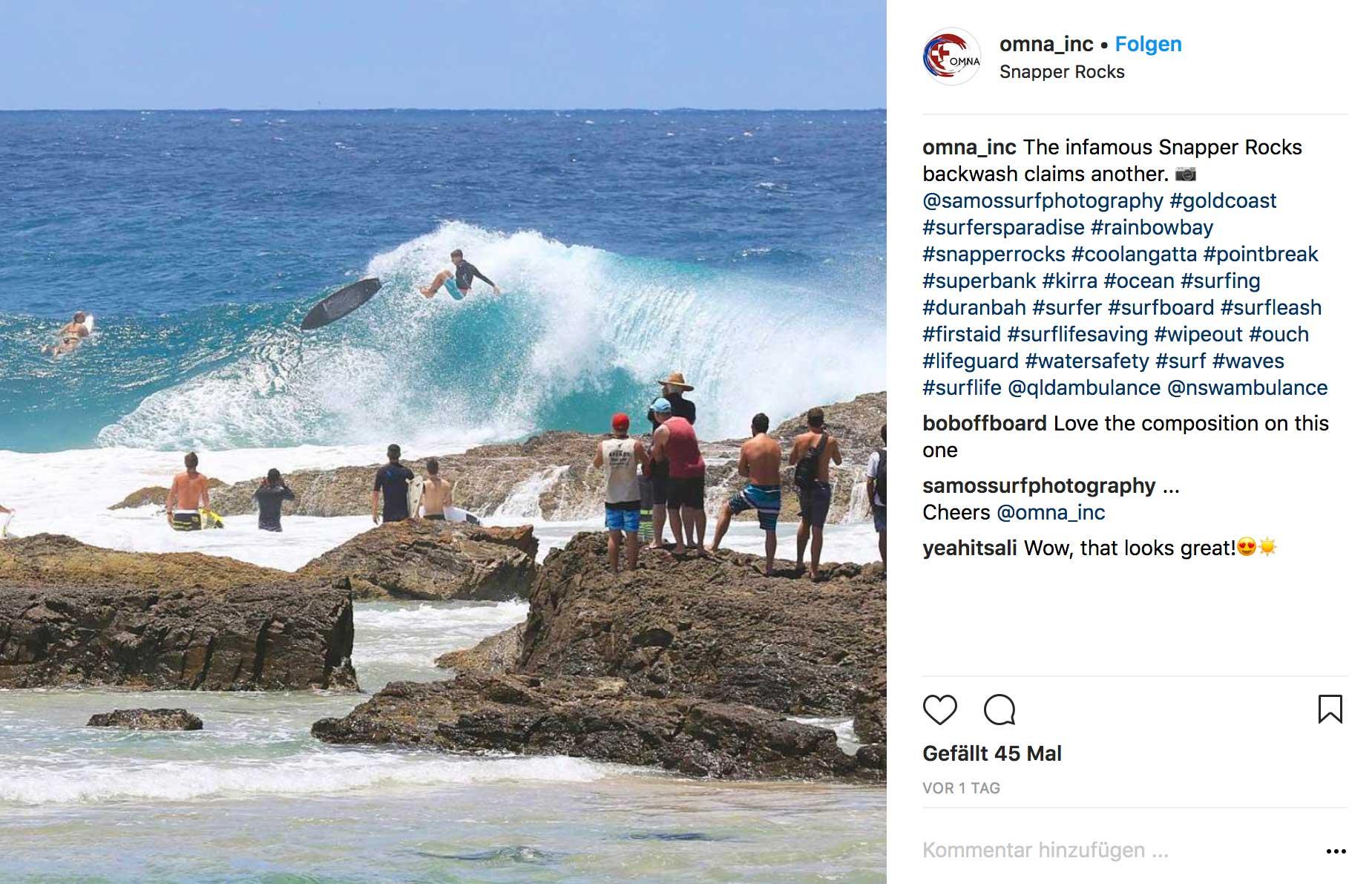 So will kein Surfer eine Welle reiten.