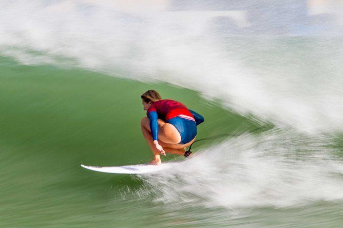 Frankie Harrer wird beim Founders Cup gegen Kelly surfen