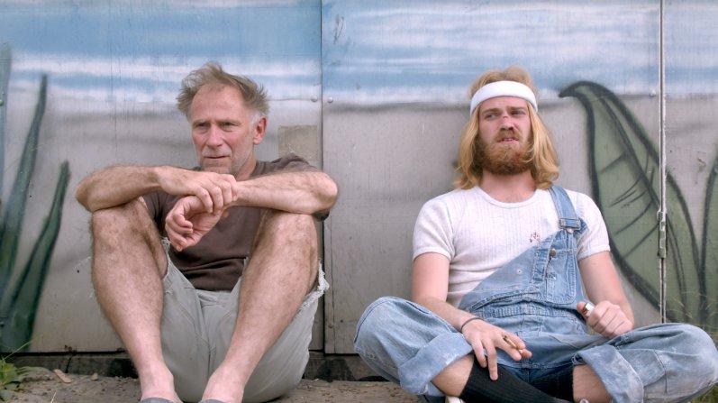 Der Hipster (rechts) und sein Guru.