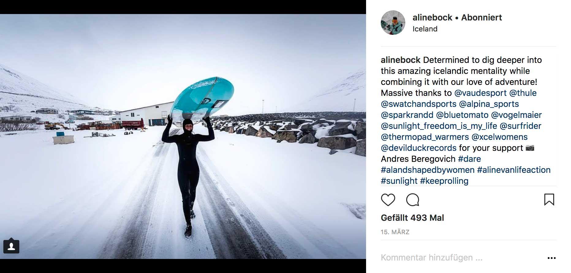 Island ist eben nichts für Warmduscher.