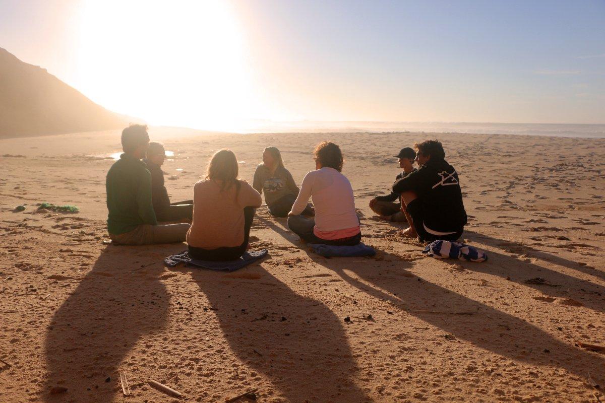 Mentaltraining, Mindfulness und Meditation können euer Surflevel auf das nächste Level heben.
