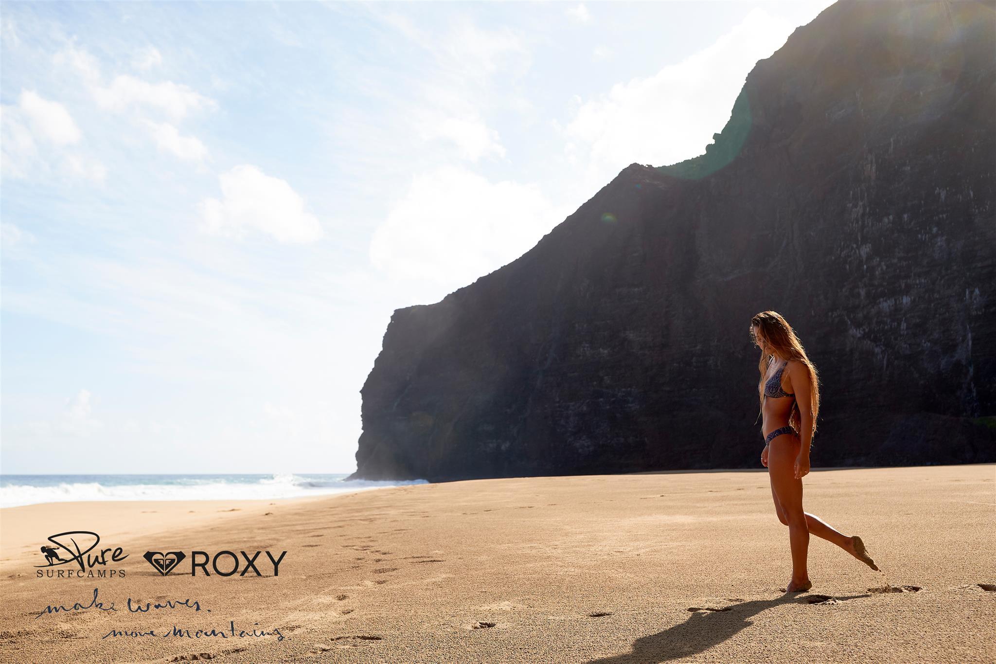 Du willst ein Jahr um die Welt reisen und die besten Spots surfen? Dann bewirb dich als ROXY Girl!