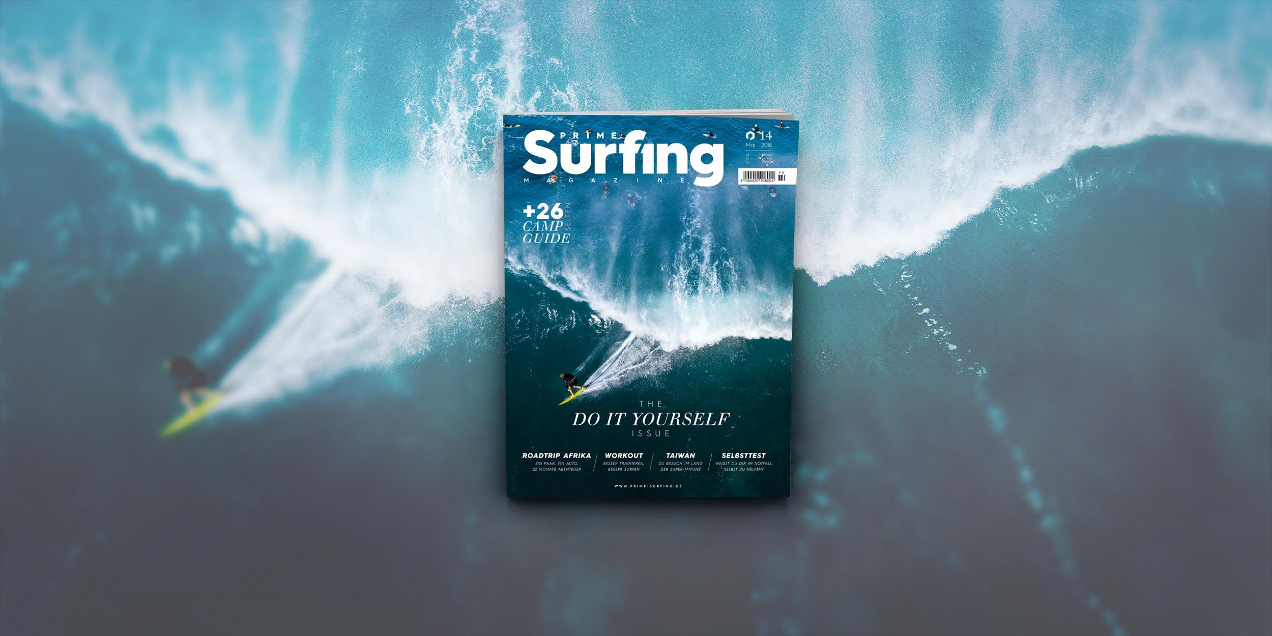 Prime Surfing Nr. 14 ist da! Die Do It Yourself Ausgabe
