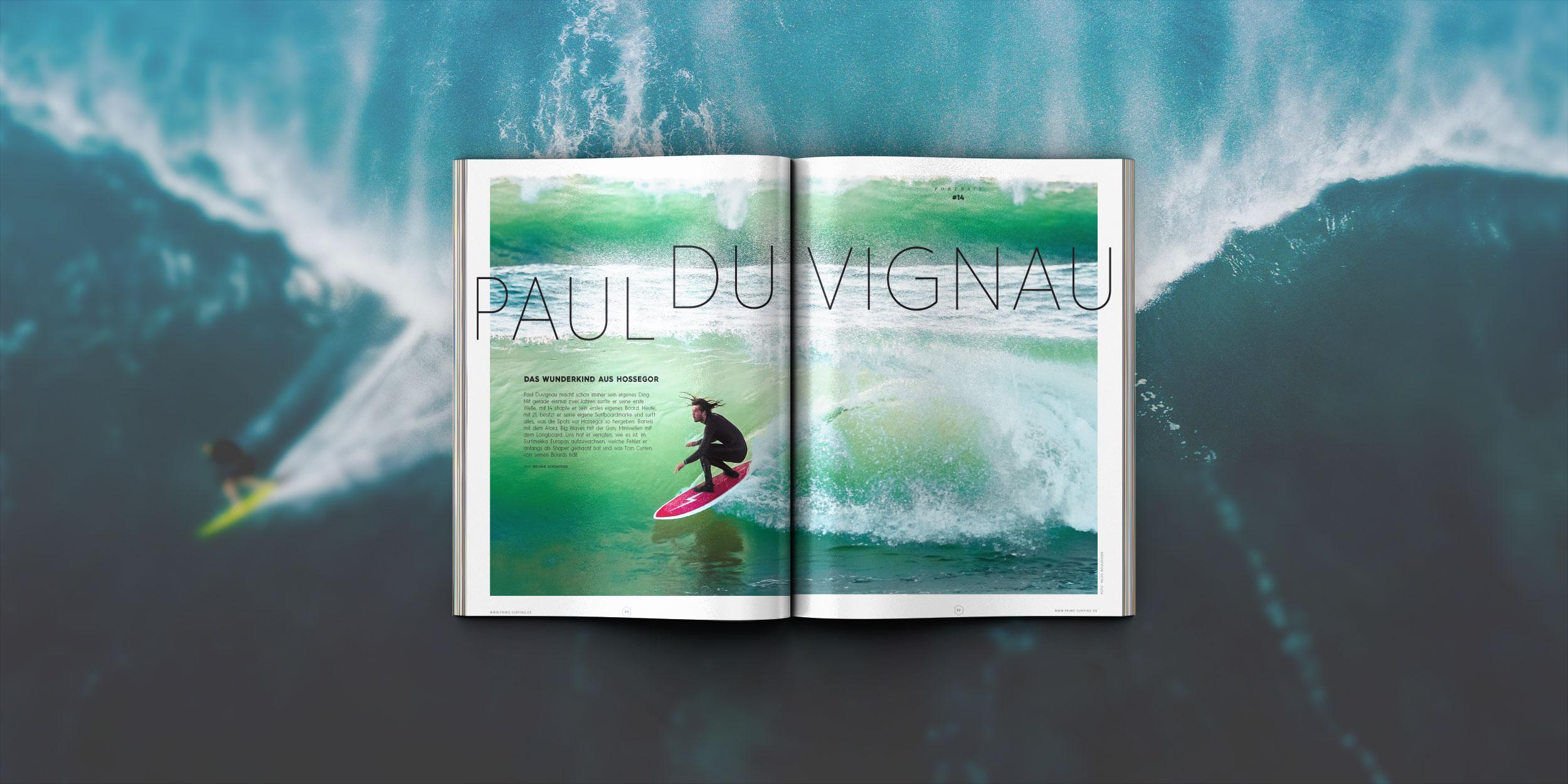 Das Wunderkind aus Hossegor in Prime Surfing Nr. 14