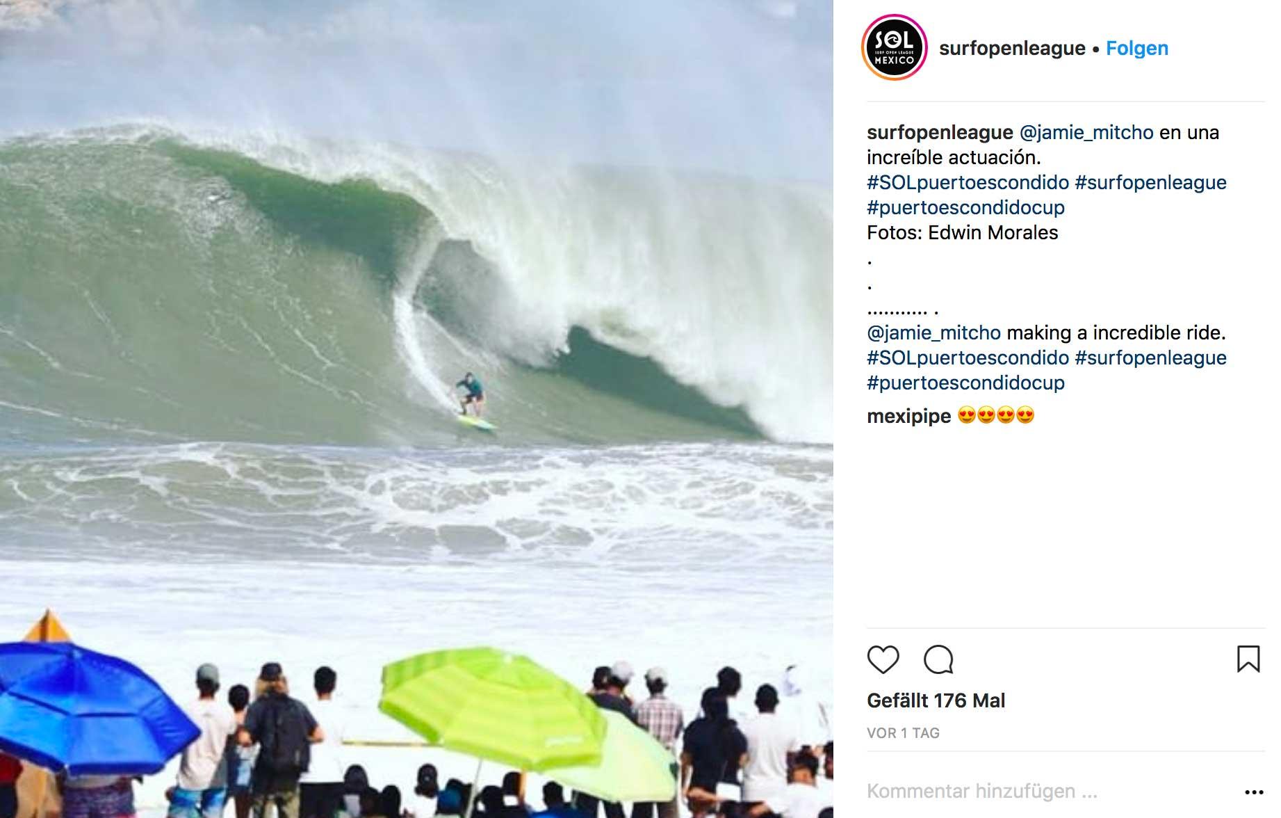 An keinem Beachbreak werden wohl heftigere Barrels gesurft als hier.