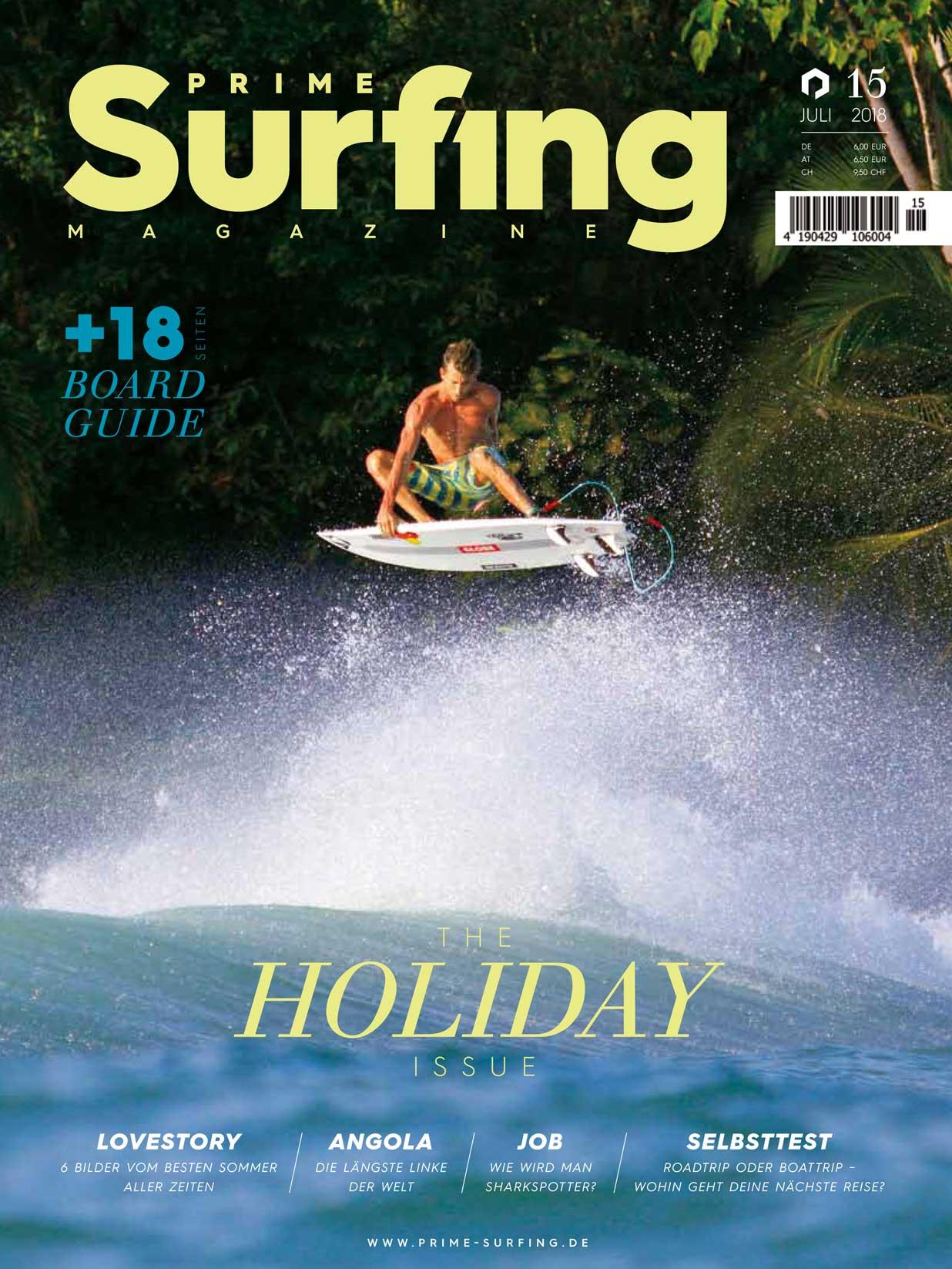 Die Holiday Issue und du bist bereit für den Sommer deines Lebens.