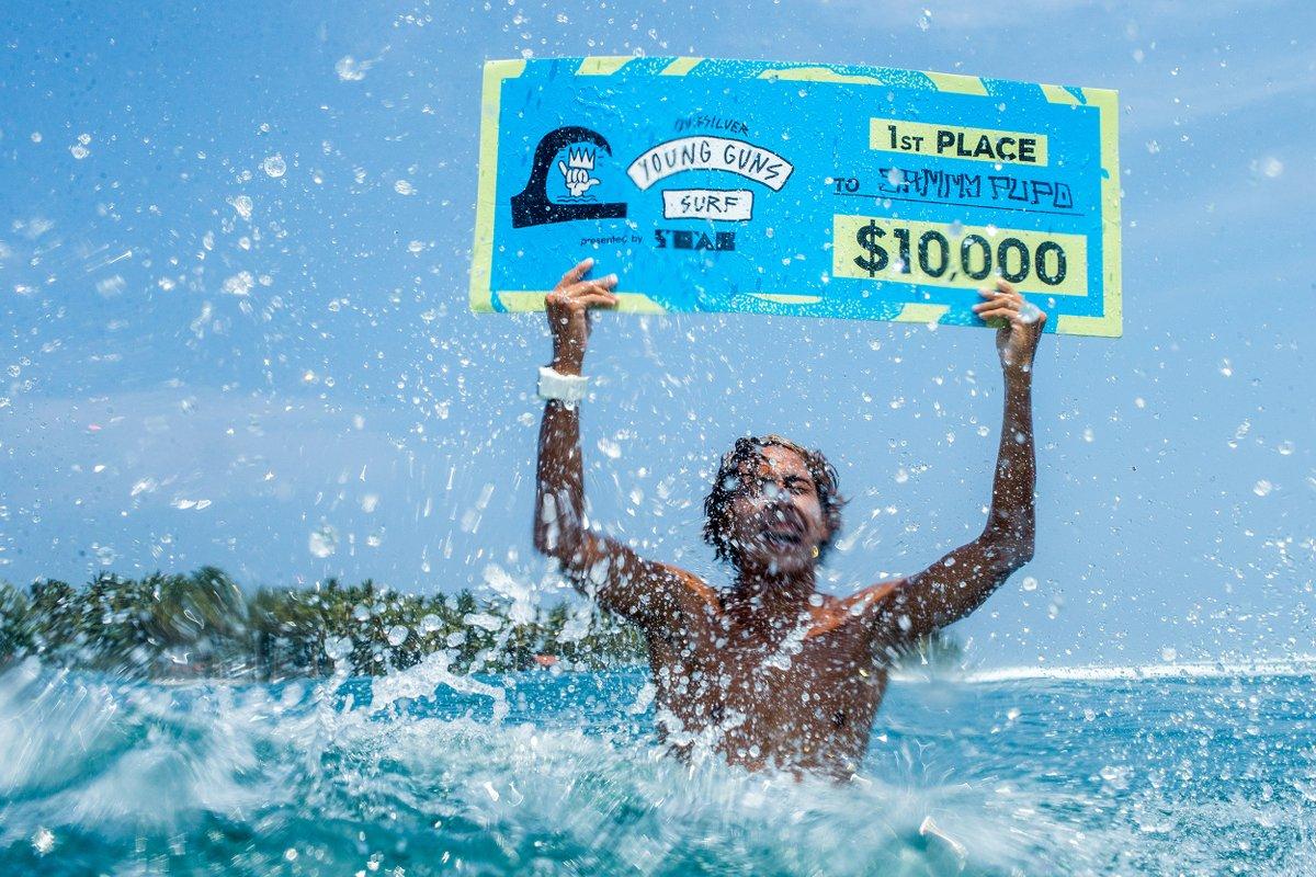10.000 US-Dollar sowie Ruhm und eine Zukunft als Surf-Pro winken dem Gewinner.