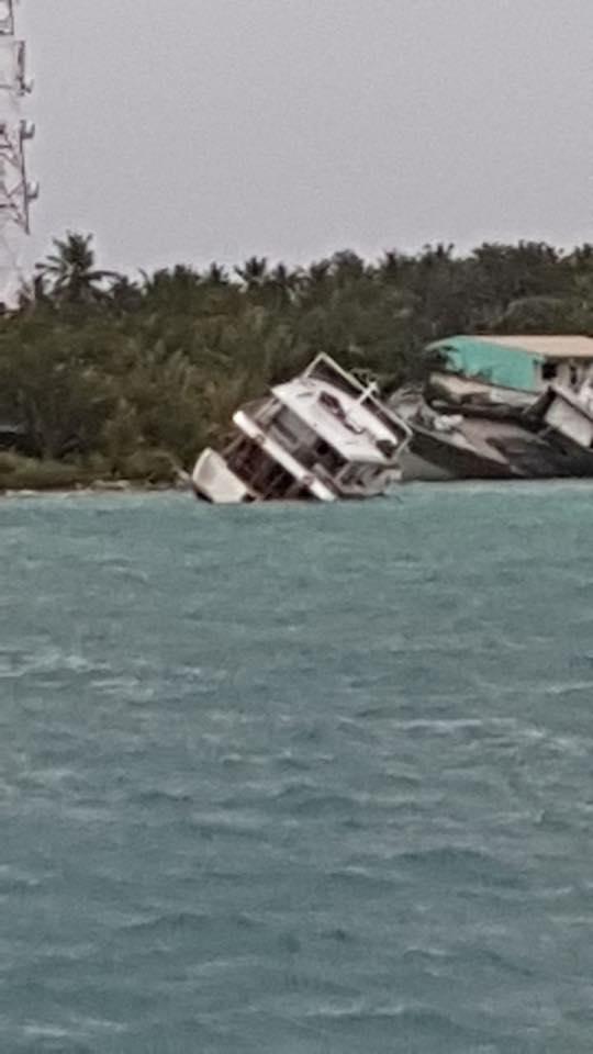 Das ungeplante Ende eines Surftrips auf den Malediven.
