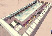 Der zukünftige Indoor-Wavepool in Den Haag.