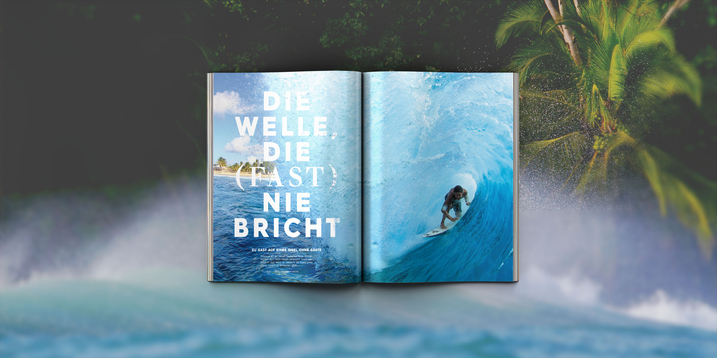 Die Holiday Issue von Prime Surfing