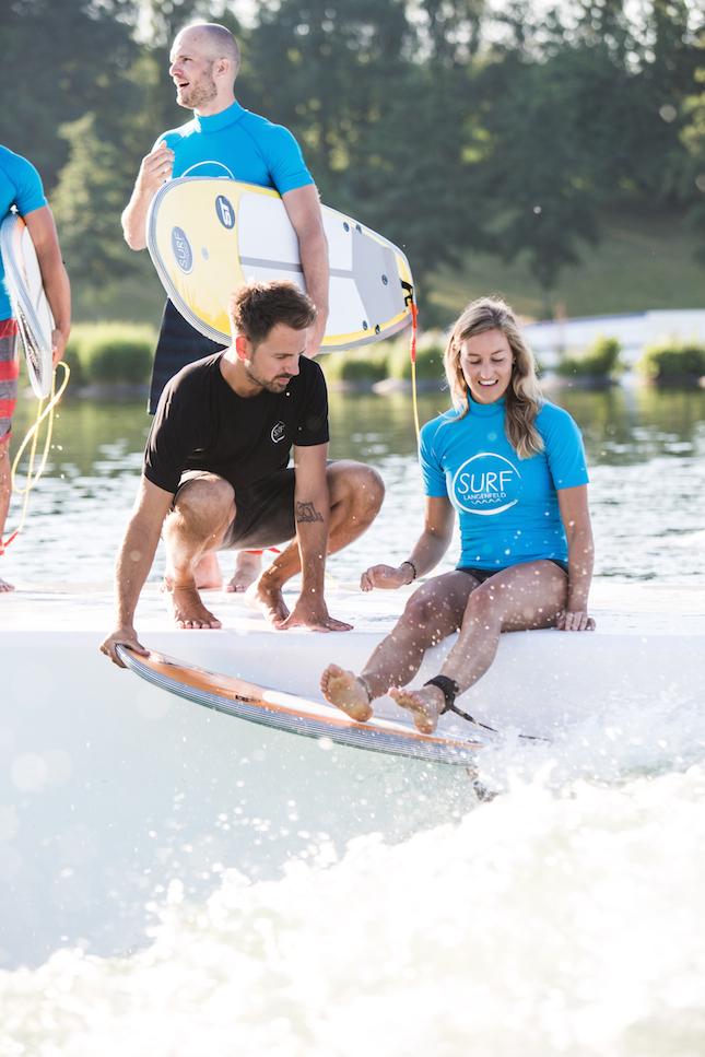 Hannes als Surfcoach