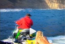 Nackter Surfer vs. Slab