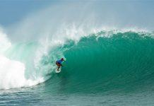 Padang Padang während des Monsterswells